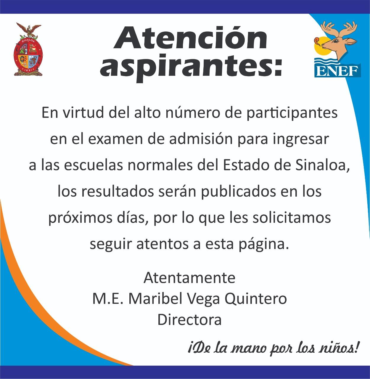 INFORMACIÓN ASPIRANTES